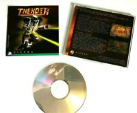 Thexder 1995 PC game disc by Sierra w manual & double sided poster (no bog box)