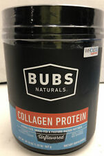 Bubs Naturals Collagen Protein Unflavored Keto & Paleo Diet Approved Exp 5/23