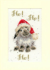 Bothy Threads Ho! Ho! Ho!Counted Cross Stitch Card Kit by Hannah Dale