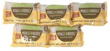 New listing 5 Pack Miracle Noodle Plant Based Noodles Angel Hair Style Noodle Keto Friendly