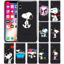 Cartoon Snoopy Phone Case Cover For iPhone X XR XS MAX 8 7 6 6s Plus 5 5s SE 4s