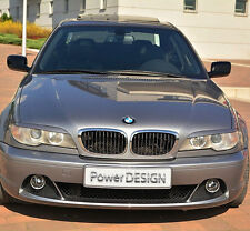 Eyebrows for BMW 3 Series E46 COUPE 2003-2007 headlight eyelids lids ABS Plastic