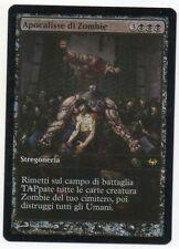 MTG Italian Foil Zombie Apocalypse Full Art Promo NM