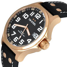 TW STEEL Pilot Rose Gold PVD Men's Watch- TW416