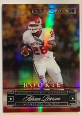 2007 Playoff Prestige Adrian Peterson #155 ROOKIE XTRA POINTS RED REFRACTOR /100