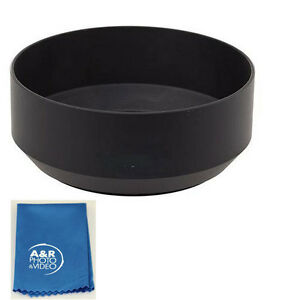 Replacement metal lens hood for Nikon 50mm 1.4 AIS 52mm 1.8 With Cleaning cloth