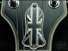 """Union Jack"" Diecast Truss Rod Cover. Fits Gibson Les Paul, SG and many more"