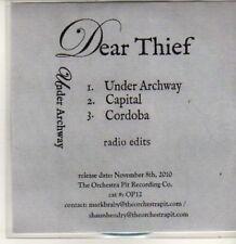 (BT905) Dear Thief, Under Archway - DJ CD