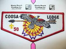 OA Coosa Lodge 50,S-5,2001 Hawk Flap, BLK Let,135,310,Greater Alabama Council,AL