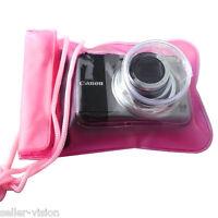 Digital Camera Underwater Waterproof Case Dry Bag Scuba Swimming Beach Holiday