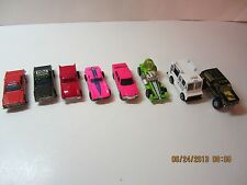 Vintage Hot Wheels Vehicles Lot-Good Humor Truck, Fire Chief, Sheriff, 380 SEL