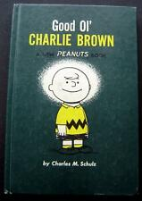 Good Ol' Charlie Brown Peanuts Book 1957 Hardcover Weekly Reader