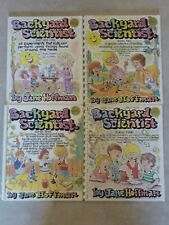 Lot 4 Backyard Scientist Books by Jane Hoffman Series 1 2 3 4 Homeschool Science