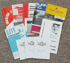 10 1960's Football Programmes – Various Clubs – 1965-1969 – All Listed