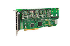 OpenVox A800P60 8 Port Analog PCI Base card + 6 FXS + 0 FXO, Ethernet (RJ45)