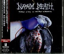 Napalm Death-Throes De Joy En The Jaws De Defeatism-Japan CD Bonus Piste F30