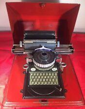 Antike Kinder Schreibmaschine von Vedes DRP Gescha Blechspielzeug DRGM Museumst.