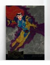 Marvel Metal 1995 GOLD Blaster card 8 Jean Grey