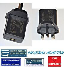 10W 5V 2A AMP USB Port Charger UK Mains Wall Plug Power Adapter 3 Pin ORIGINAL