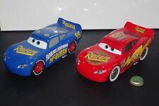 Disney Pixar Cars Lot x2 Jada Toys 1:24 Scale Lightning McQueen Diecast Metal