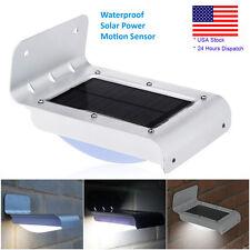 16 LED Solar Power Panel Motion Sensor Garden Security Lamp Outdoor Wall Light