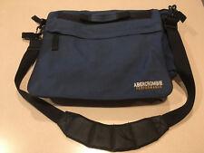 Abercrombie & Fitch Large Classic Blue Messenger Bag Vintage 90's!