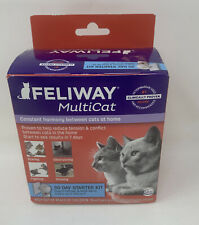 New listing Feliway Multicat 30 Day Starter Kit Harmony Diffuser For Cats Brand New