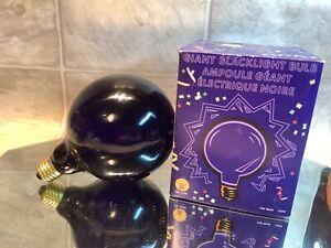 BLACK LIGHT giant 100 watt 120v fits standard light sockets