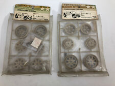Tamiya #50040 Cheetah 58007 NEW Wheels Vintage Original Vary Rare SET