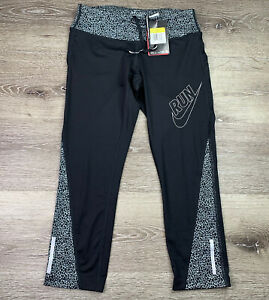 NEW - Nike Run Women's Dri-Fit Training Leggings - 708278-010 - Size Small