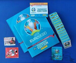 PANINI, Euro 2020 Tournament Edition *ULTIMATE COLLECTOR'S COMPLETE SET*