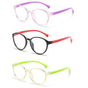 Anti Blue Light Blocking Glasses For Children Kids Computer Goggles Frame Glass