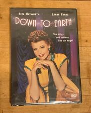 Down to Earth DVD - Rita Hayworth 1947 RARE/OOP BRAND NEW/SEALED!