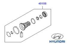Genuine Hyundai Santa Fe SNODATO centro Cuscinetto Riparazione Kit - 495752b000