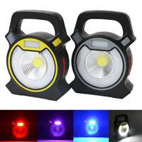 Portable Rechargeable 30W COB LED Flood Light Outdoor Garden Work Spot Lamp USB