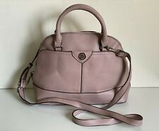 NEW! ANNE KLEIN ON THE GO DARK MAUVE CONVERTIBLE DOME SATCHEL CROSSBODY BAG $78