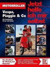 Motorroller Vespa Piaggio Zweitakter 50 - 180 ccm Wartung Jetzt helfe ich mir