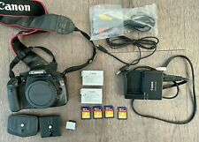 Canon EOS Rebel T2i Camera Body Only with Battery, Charger, Manual & More Extras
