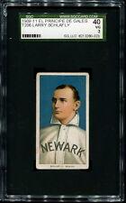 1909-11 T206 El Principe de Gales:   Larry Schlafly  SGC 40 3 VG   EPDG