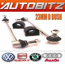 FITS VW GOLF MK5 2005> FRONT STABILISER LINK BARS & 23MM ANTI ROLL BAR D BUSHES