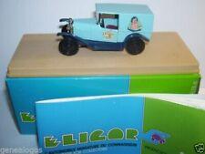 Voitures, camions et fourgons miniatures bleus Eligor 1:43