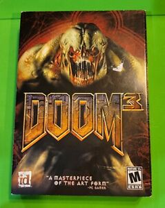 FACTORY SEALED Classic DOOM 3 PC ID Games 2004