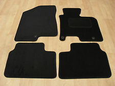 Kia Ceed (2012-on) Fully Tailored Car Mats in Black