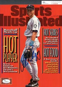 JSA Alex Rodriguez Autographed Signed AUTO Sports Illustrated Magazine TRB 264