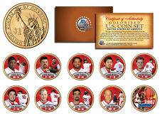 2007 BOSTON RED SOX CHAMPIONS Presidential $1 Dollar U.S. Colorized 10-Coin Set