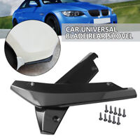 2X Universal Auto Car ABS Bumper Spoiler Rear Lip Canard Diffuser Anti-scratch