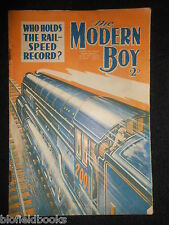 THE MODERN BOY; Pre War Comic - 18th May 1935 - Biggles/W E Johns, Mickey Mouse