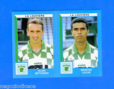 FOOTBALL 2000 BELGIO Panini-Figurina -Sticker n. 452 - LA LOUVIERE -New