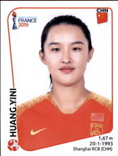 Panini Frauen WM 2019 Sticker 129 - Yao Wei - China