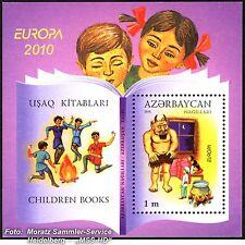 Aserbaidschan Azerbaijan Europa CEPT 2010, Kinderbücher, Block **